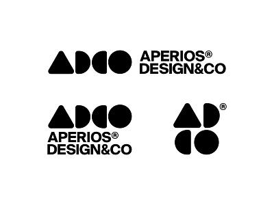 AperiosDesign® Version 1.2 2020 shapes logomark simple typography responsive designer logo graphicdesign logo logo designer branding