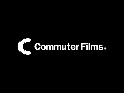 Commuter Films webflow webdesign logomark simple graphic design typography branding logo designer logo minimal design photography branding photography logo photography production company production films