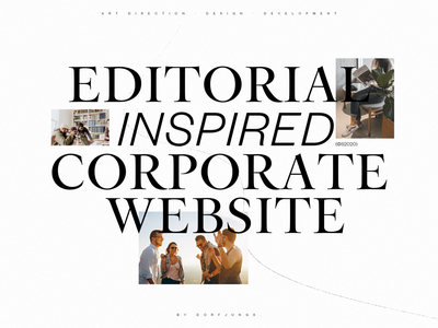 Editorial Inspired Consultancy Website — Case Coming Soon consultancy consulting corporate editorial portfolio art direction webdesign layout grid typography