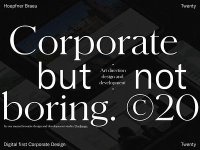 Hoepfner Bräu –Digital First Corporate Design case study stationary print digital branding corporate design portfolio consultancy real estate editorial typography