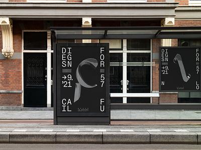 Designfor KA – Identity for a design conference event conference corporate design brand identity brand editorial art direction webdesign portfolio layout grid typography