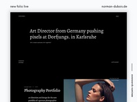 New Design Folio Live
