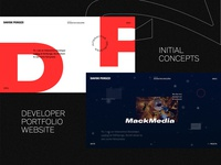 Developer Portfolio - Behance Case Study