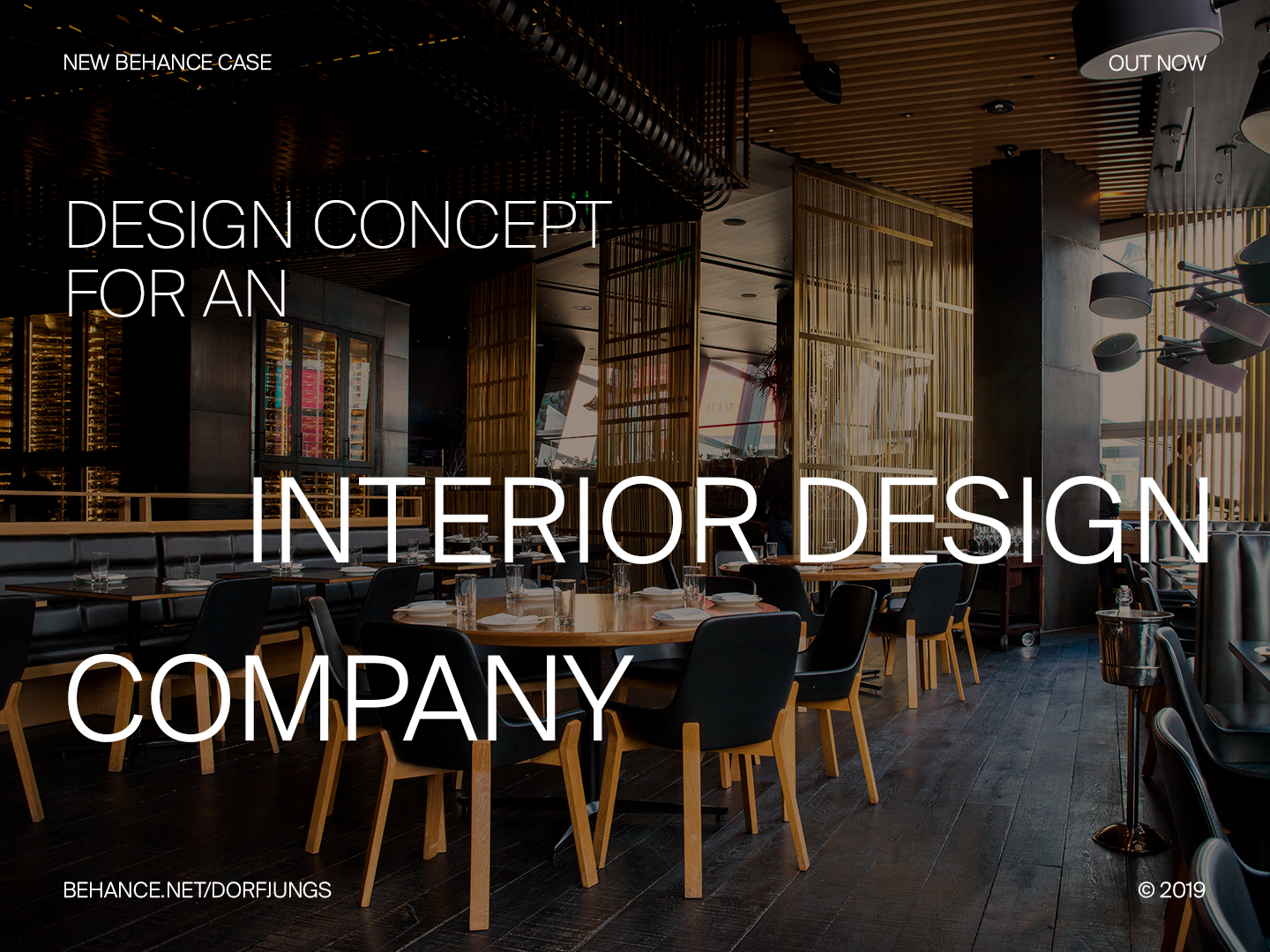 Interior Design Agency - Behance Case Study by Norman Dubois