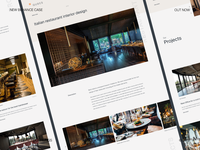 Interior Design Company - Behance Case Study