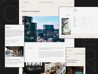 Interior Design Agency Portfolio Website