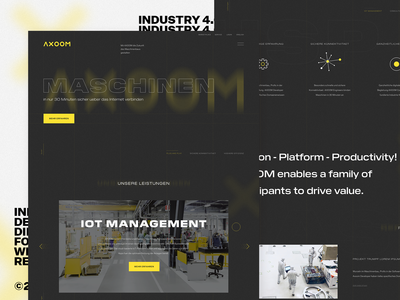 Industry 4.0 Company — Homepage Design Direction