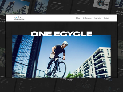 Ebike Online Store — Design Direction