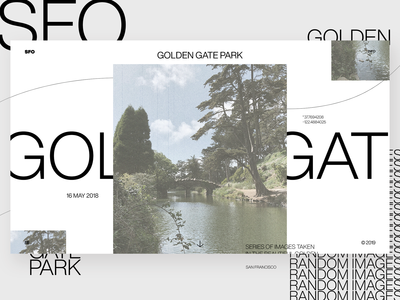 Photography Portfolio Details — Golden Gate Park