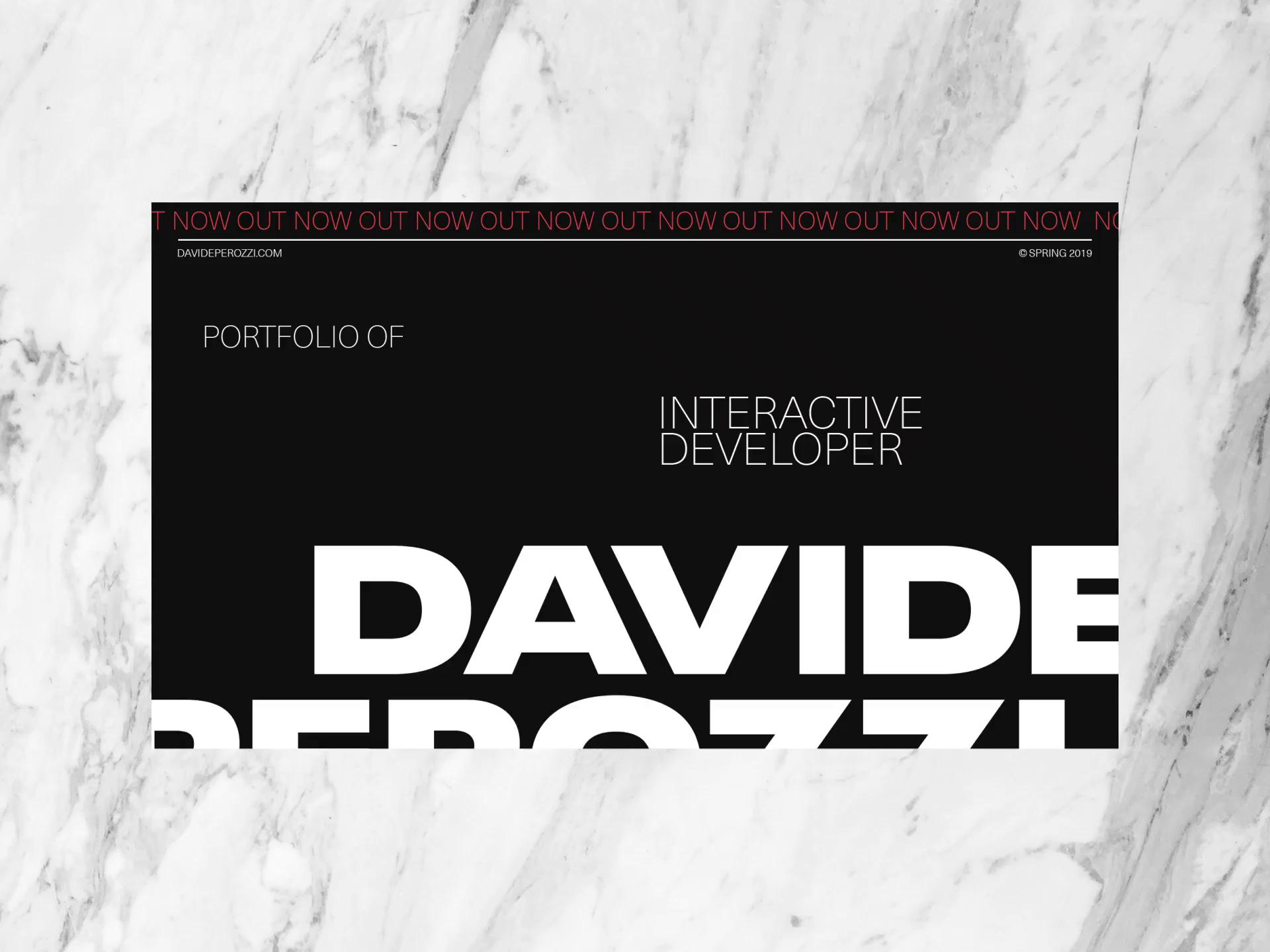 Davide folio full case