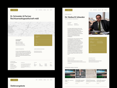 Law Firm —Lawyer, Career, Contact Pages corporate website contact career details grid story magazine typography layout lawyer law firm art direction clean editorial
