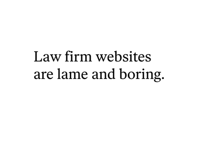 Law firm — Full Case Study case typography projects project lawyer law firm law grid editorial corporate case study blog article art direction