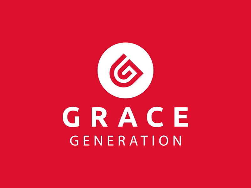Grace Generation Church Branding brand agency design logo graphic designer faith jesus christianity grace branding design belfast northern ireland identity church branding