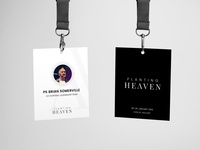 Planting Heaven Conference Lanyard
