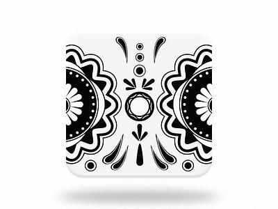 Muertos app icon icon design dia de los muertos