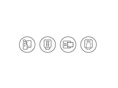 Credit Card Icons fin tech bank icons iconography credit card icons