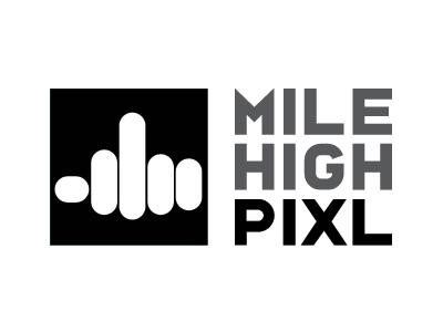 Mhp Logo Template logo design