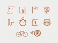 Pictogram Drafts for App