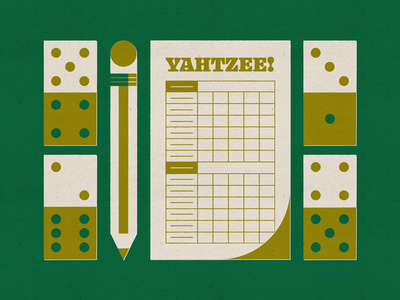 Weekly Design Challenge - Obsession donut toothpick cleaning service clothes yahtzee team animation obsession