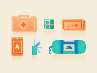 Survival Kit Items