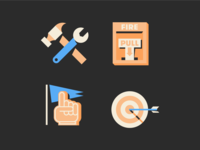 Icons from a thing