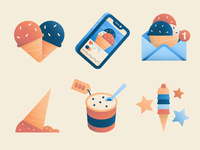 Ice Cream Illustrations