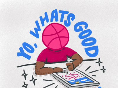 What's good dribbble! Really glad I'm finally on this platform.