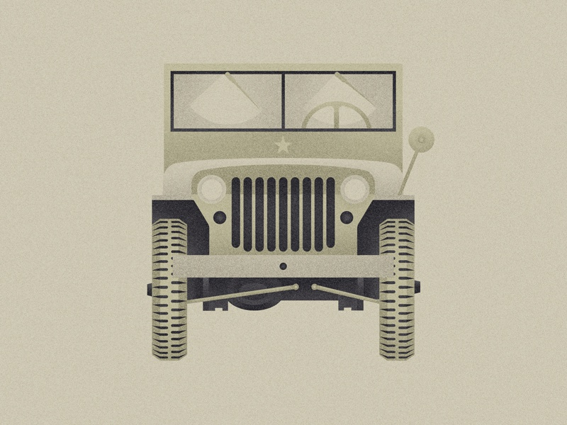 Jeep Willys army willys jeep illustration u.s. off-road