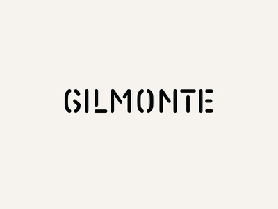 Gilmonte—The Ropemaker  g logo carabiner rounded climbing logotype stencil ropemaker rope