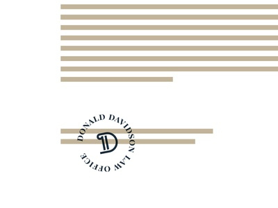 Davidson Law Stamp attorney stamp lawyer stamp column pillar lawyer logo d logo justice attorney at law lawyer law office