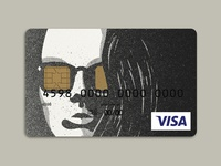 Stencil portrait—Credit Card Design pt. 2