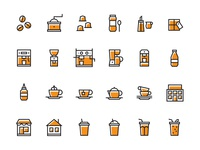 Coffee Icon Set Pt. 2