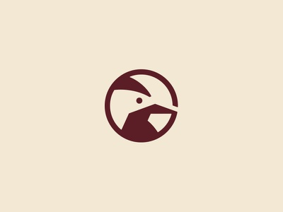 Woodpecker ver. 2 wood logo woodworking woodpecker wood line logo carpenter bird logo bird icon animal icon animal