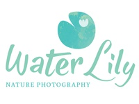 Water Lily Nature Photography Logo Design