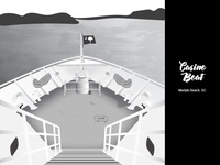Casino Boat Illustration