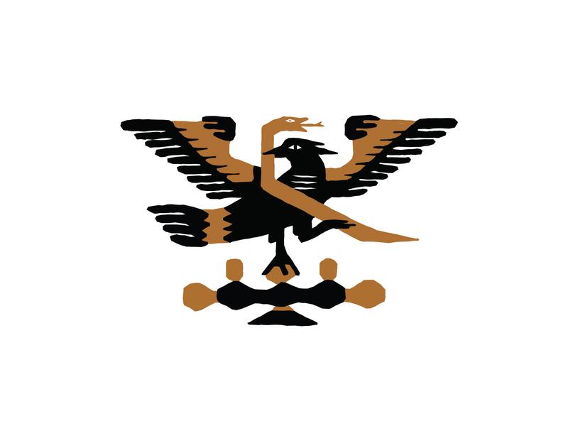 Birds of Prey design rough prey bird illustration texture papercut snake eagle birds of prey