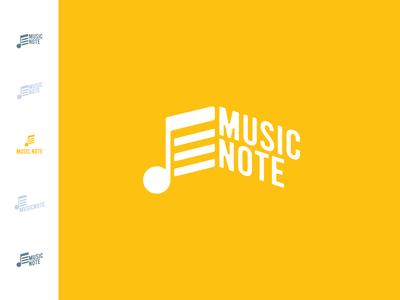 MusicNote 2 branding design brand identity brand design branding brand design logo design logotype logo music app design music art app icon icon design icon music app music note music