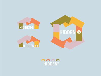 Hidden Design home streetwear apparel design clothing geometric blocks stacked simple design color shapes hidden