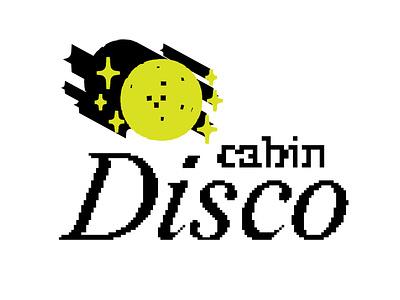 Cabin Disco 02 art party design illustration 8bit digital art disco cabin