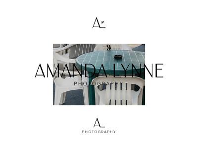 AmandaLynne Photography photography logo photo brand photo photography brand identity icon letters branding brand type badge design wordmark logo design logo