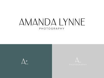 AmandaLynne Photography photography brand photo design photography logo photo photography word mark letters type badge design brand design logo design logo branding brand