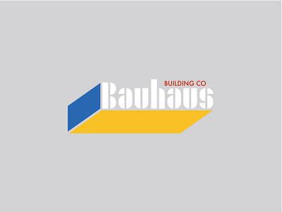 Bauhaus Building Company contest adobehiddentreasures company building brick design logo bauhaus