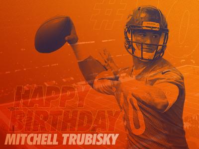 Happy Birthday Mitchell Trubisky