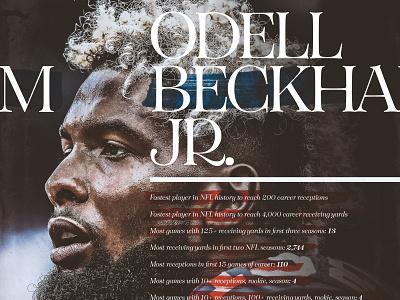 Odell Beckham Junior sports sports design new york giants football giants obj