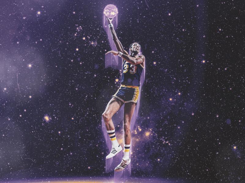 Kareem Abdul-Jabbar retro kareem athlete smsports sports basketball nba showtime lakers