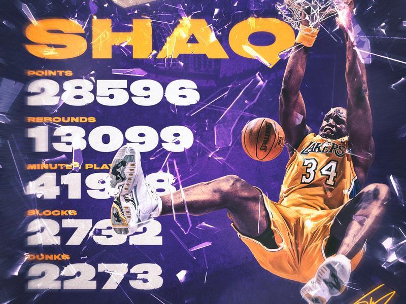 Shaq los angeles lakers shawarma dunk athlete basketball nba smsports sports sports design los angeles shaq lakers