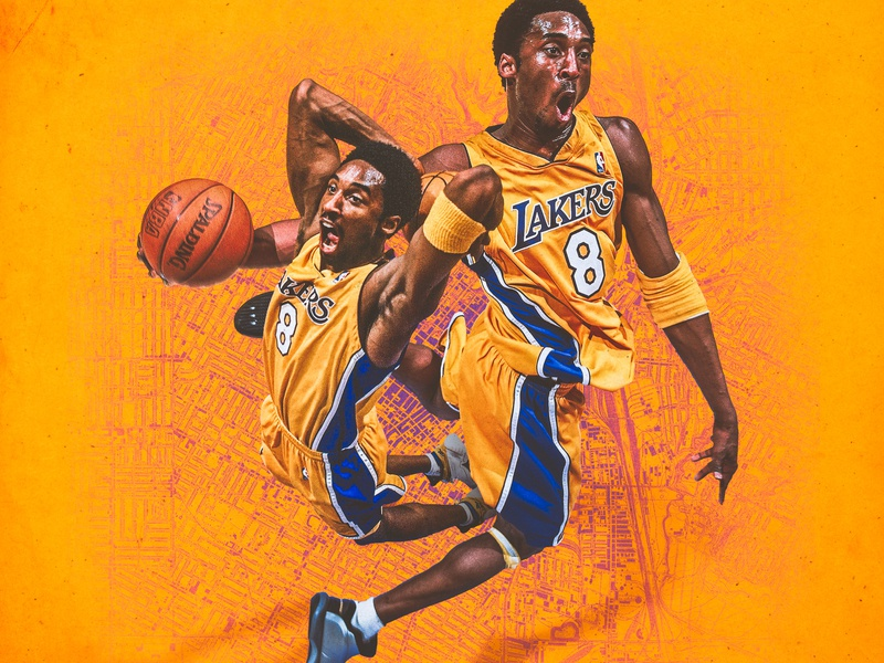 Kobe Bryant black mamba athlete basketball nba showtime los angeles lakers kobe