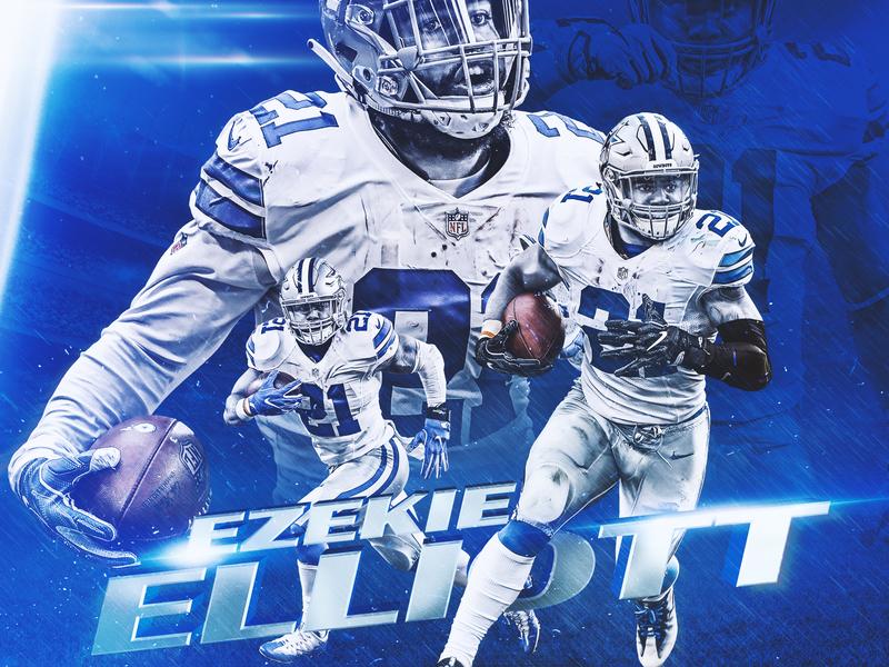 Ezekiel Elliott buckeyes athlete football nfl sports design sports smsports dallas cowboys ohio state zeke