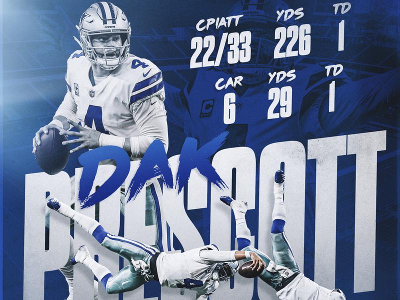 Dak Prescott dak sports design smsports sports nfl football dallas cowboys