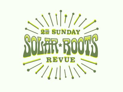 2nd Sunday Solar Roots Revue Logo